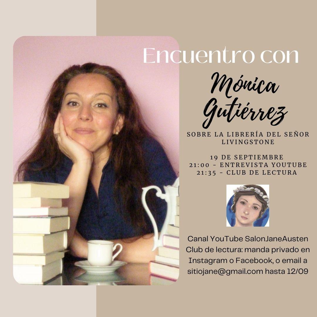 Encuentro con Mónica Gutiérrez